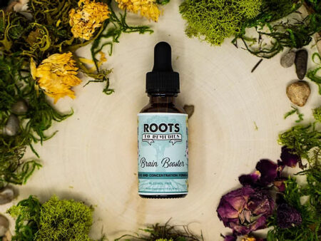 """""""Brain Booster"""" Focus and Concentration Boosting Herbal Extract - RootsToRemedies.com"""