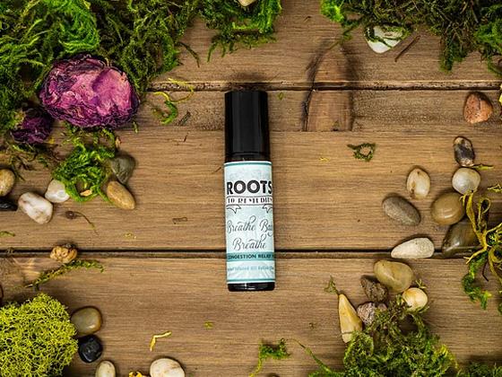 """Breathe Baby Breathe"" Children's Congestion Relief Herbal Roll On - RootsToRemedies.com"