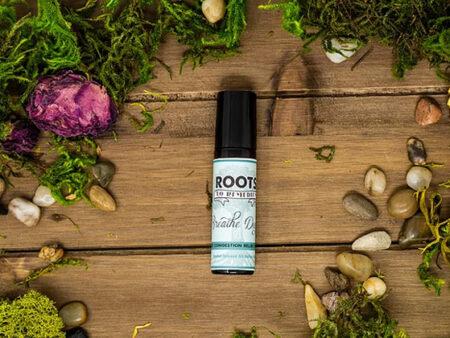 """Breathe Deep"" Adult Congestion Relief Herbal Roll On - RootsToRemedies.com"