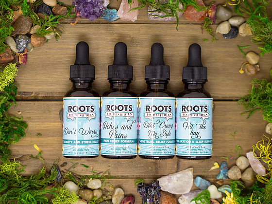 CBD Infused Herbal Extracts - RootsToRemedies.com