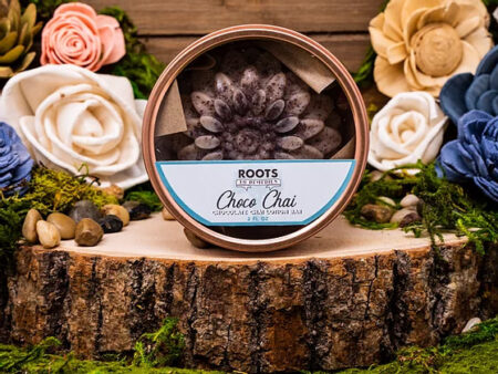 Chocolate Chai Lotion Bar - RootsToRemedies.com
