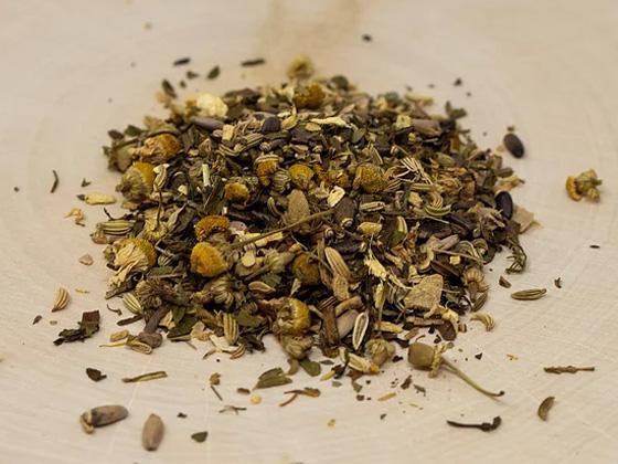 Digestive Support Herbal Tea - RootsToRemedies.com