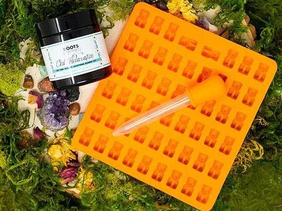 DIY CBD Relaxation Gummy Kit - RootsToRemedies.com