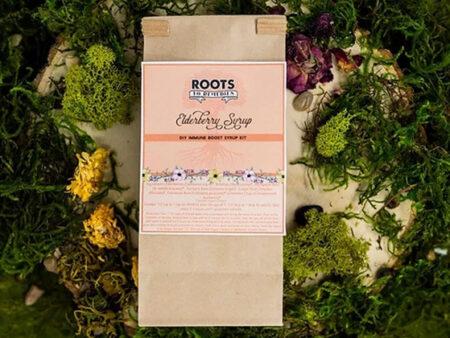 DIY Immune Boosting Elderberry Syrup Kit - RootsToRemedies.com