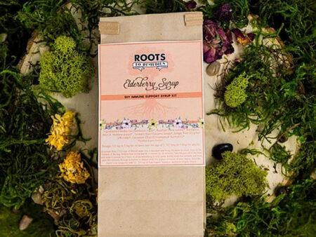 DIY Immune Support Elderberry Syrup Kit - RootsToRemedies.com