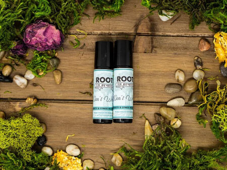 """""""Dont Worry"""" Anxiety/Stress Relief Herbal Roll On - RootsToRemedies.com"""