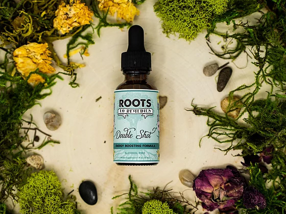 """""""Double Shot"""" Energy Boosting Herbal Extract - RootsToRemedies.com"""