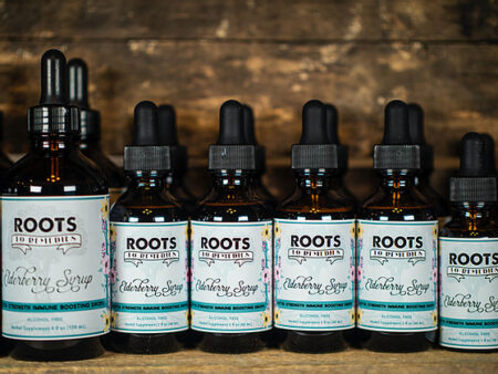 Elderberry Syrup Drops (Extra Strength/Highly Concentrated) - RootsToRemedies.com