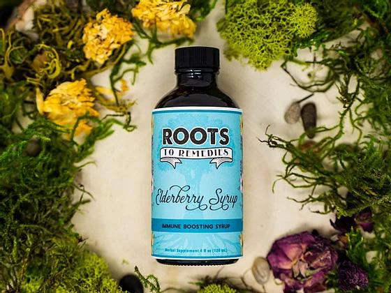 Elderberry Syrup - RootsToRemedies.com