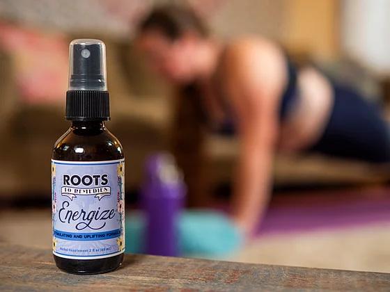 Energize Herbal Infused Magnesium Spray - RootsToRemedies.com