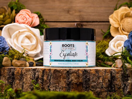 Exfoliate Brightening Body Polish - RootsToRemedies.com