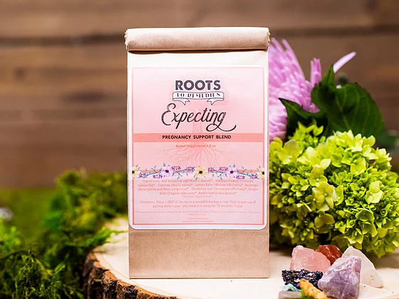 Expecting Pregnancy Support Tea - RootsToRemedies.com