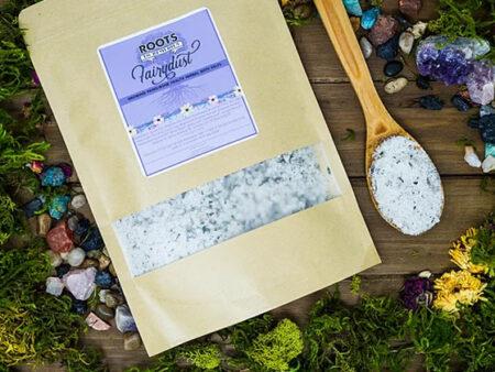 Fairydust Growing Pains/Bone Health Herbal Mineral Bath Salts - RootsToRemedies.com