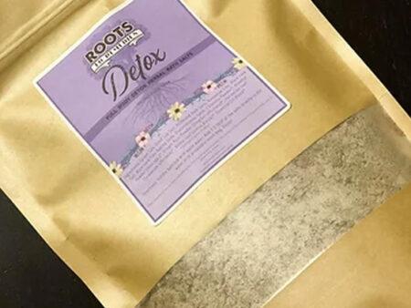 Full Body Detox Herbal Mineral Bath Salts - RootsToRemedies.com