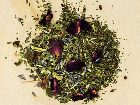 """""""Hit The Hay"""" Relaxation/Sleep Support Herbal Tea - RootsToRemedies.com"""