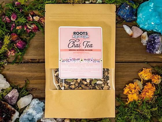 Medicinal Mushroom Chai Tea Blend - RootsToRemedies.com