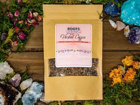 Medicinal Mushroom Herbal Coffee Blend - RootsToRemedies.com