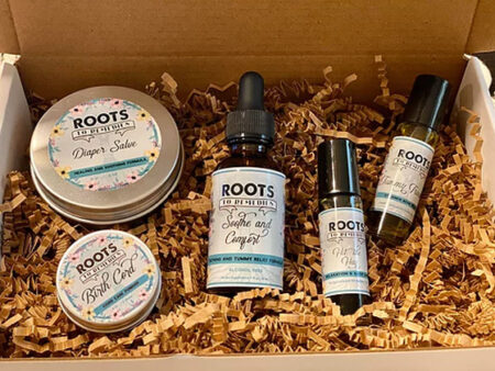 New Baby Gift Set - RootsToRemedies.com