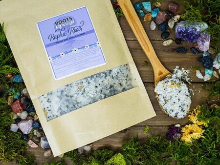 Rapha Roots Healing Herbal Mineral Bath Salts - RootsToRemedies.com
