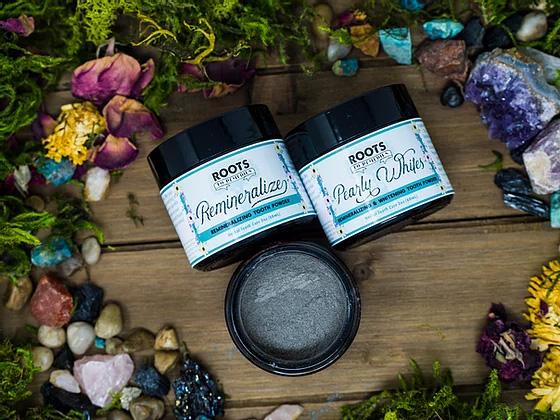 Remineralizing Herbal Tooth Powder - RootsToRemedies.com