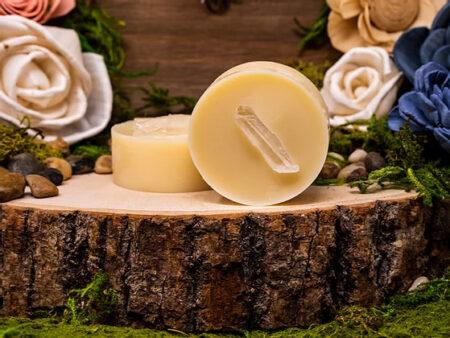 Replenish Crystal & Herbal Infused Moisturizer Facial Bar - RootsToRemedies.com