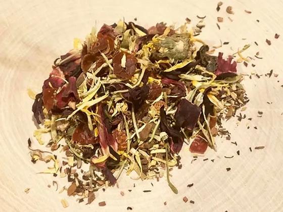 Rising Resistance Immunity Support Herbal Tea - RootsToRemedies.com